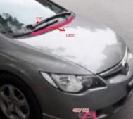 3 cách tự xử lý vết móp, lõm trên thân xe ô tô